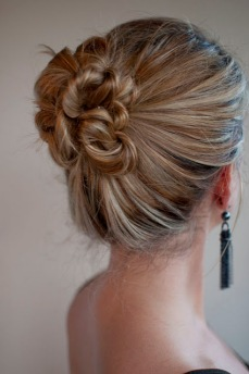 Braid and bun hairstyles for Gurupurab 05