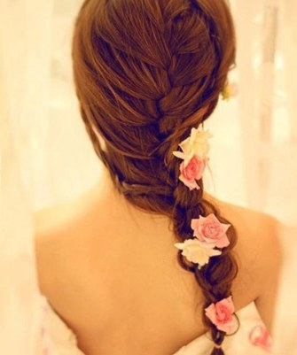 Braid and bun hairstyles for Gurupurab 17