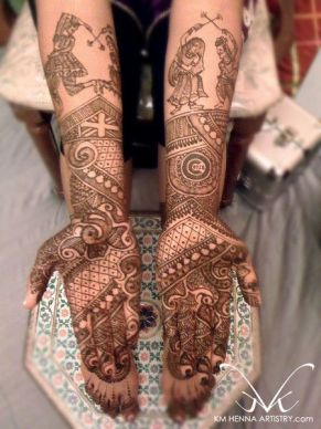 bridal mehndi designs 22