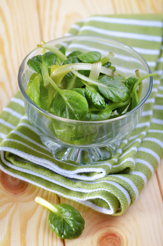 photo of spinach - food for glowing skin