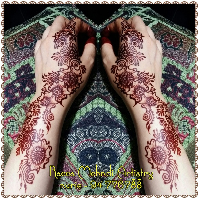 mehendi designs by Nurie 01