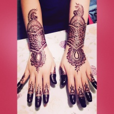 mehendi designs by Nurie 13