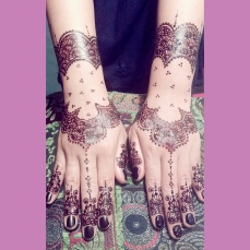 mehendi designs by Nurie 18