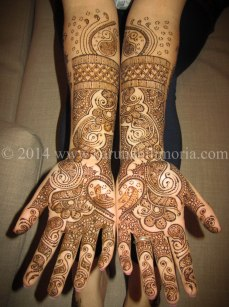 Mehndi design by Karuna 09