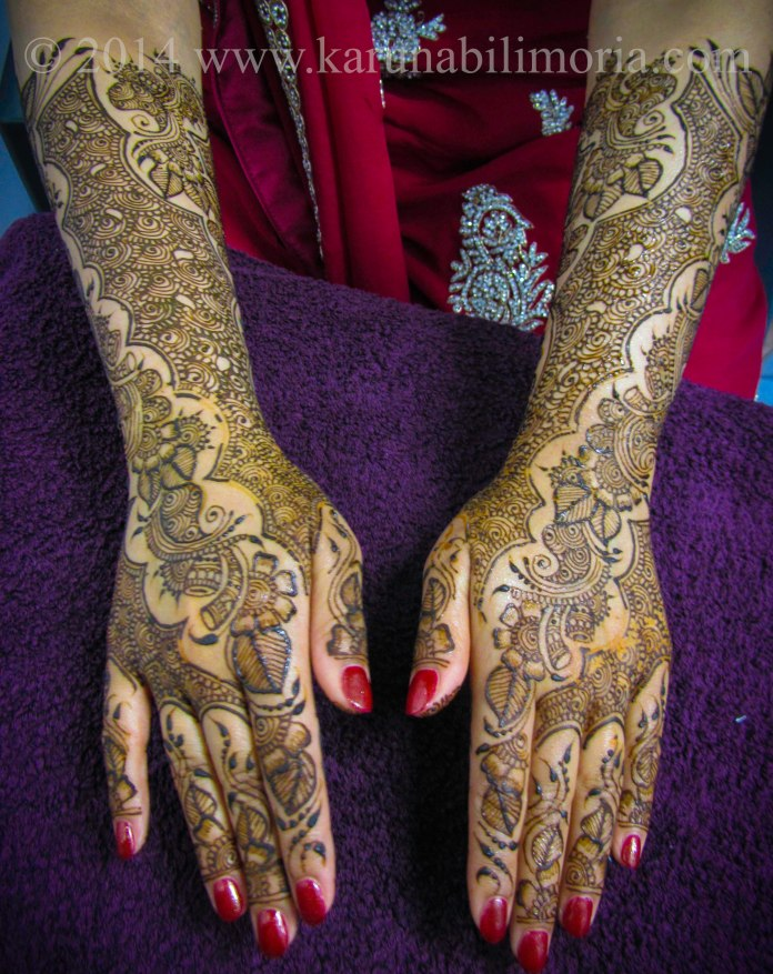 Mehndi design by Karuna 1