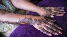 Mehndi design by Karuna 22