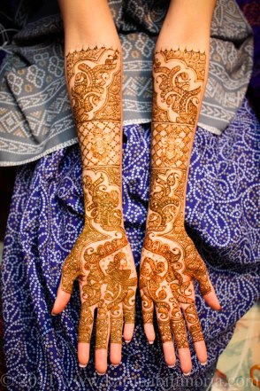 Mehndi design by Karuna 28