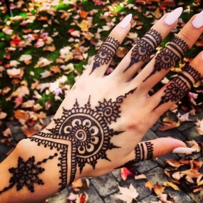 Arabic mehndi designs for bridesmaids 06