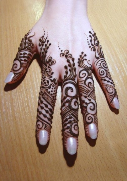 Arabic mehndi designs for bridesmaids 07