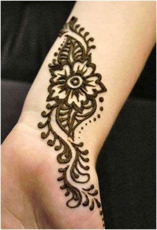 Arabic mehndi designs for bridesmaids 12