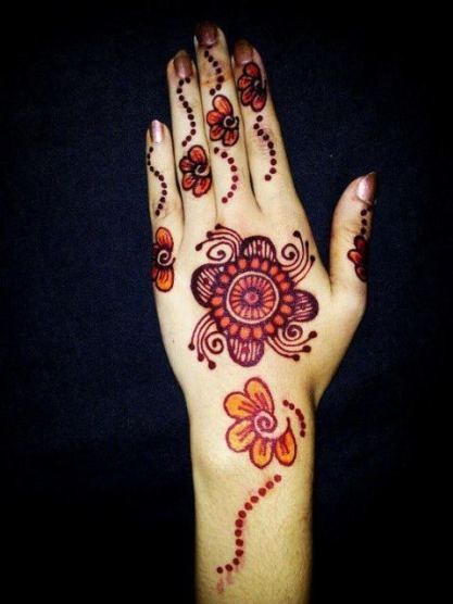 Arabic mehndi designs for bridesmaids 17