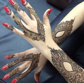 Arabic mehndi designs for bridesmaids 19