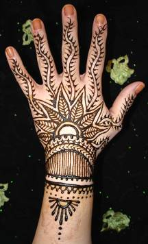 Arabic mehndi designs for bridesmaids 20