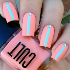 easy nail art designs for New Years 03