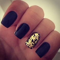easy nail art designs for New Years 06