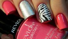 easy nail art designs for New Years 07