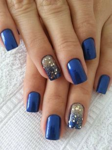 easy nail art designs for New Years 10
