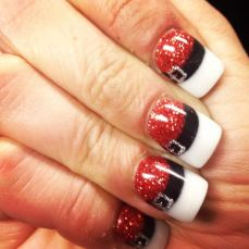easy nail art designs for New Years 14