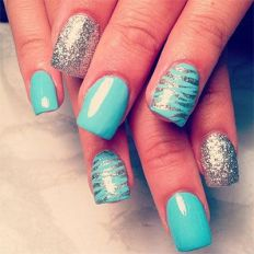 easy nail art designs for New Years 18