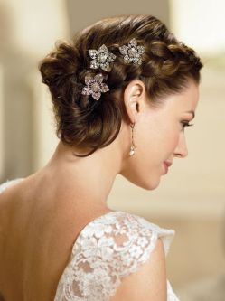 Hairstyles for wedding reception 01
