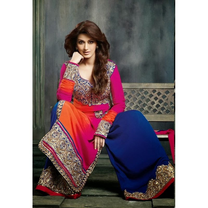 Hairstyles For Short Hair On Salwar Suits : ... salwar kameez indian makeup and - hairstyles short spikey hairstyles