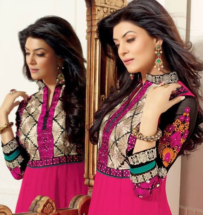 Hairstyle For Long Hair On Salwar Kameez : favourite Pakistani salwar kameez, just do remember to style your hair ...