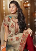 Hairstyles to wear with Pakistani salwar kameez 12