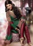Hairstyles to wear with Pakistani salwar kameez 15