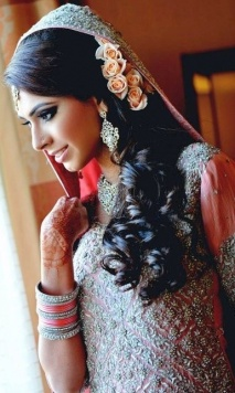 Indian bridal hairstyles 2014 12