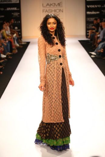 Indo Western fusion dresses 08