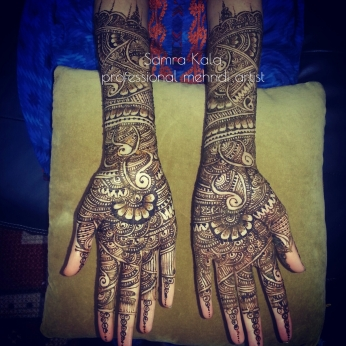 Mehandi designs by Samra 01