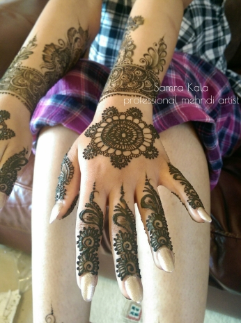Mehandi designs by Samra 02