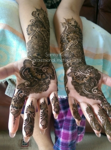 Mehandi designs by Samra 03