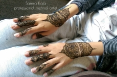 Mehandi designs by Samra 04