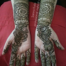 Mehandi designs by Samra 05