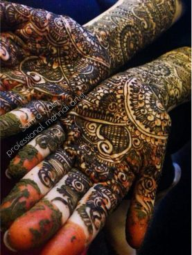 Mehandi designs by Samra 06