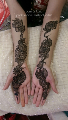 Mehandi designs by Samra 08
