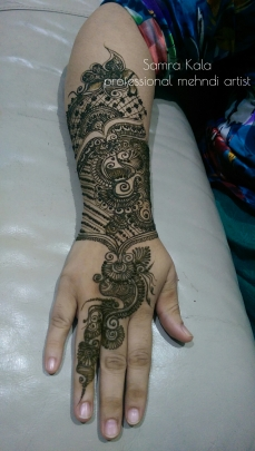 Mehandi designs by Samra 10