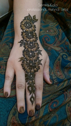 Mehandi designs by Samra 15