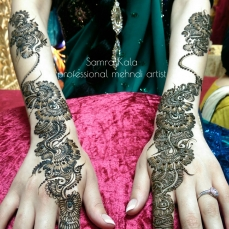 Mehandi designs by Samra 16