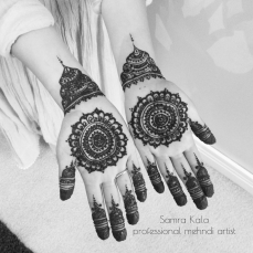 Mehandi designs by Samra 18