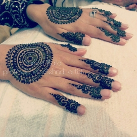 Mehandi designs by Samra 19