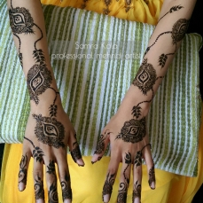 Mehandi designs by Samra 20
