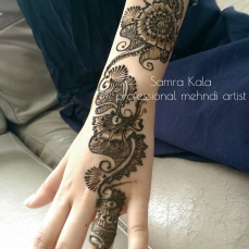 Mehandi designs by Samra 21
