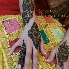 Mehandi designs by Samra 22