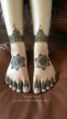 Mehandi designs by Samra 23