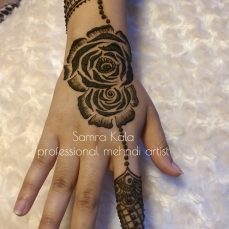 Mehandi designs by Samra 24