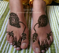 Mehandi designs by Samra 26
