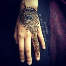Mehandi designs by Samra 27