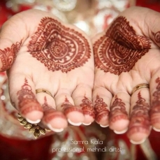 Mehandi designs by Samra 29